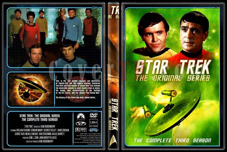 Star Trek (Season 1-3) - Custom Dvd Cover Set - English [1966-1986]-3jpg