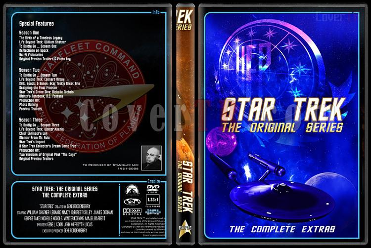 Star Trek (Season 1-3) - Custom Dvd Cover Set - English [1966-1986]-4jpg