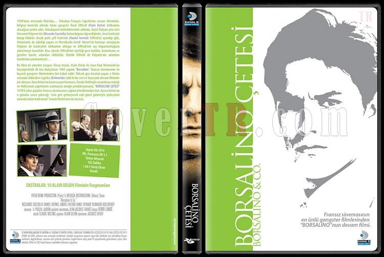 Alain Delon Collection 1 - Scan Dvd Cover Set - Türkçe-borsalino-cetesijpg
