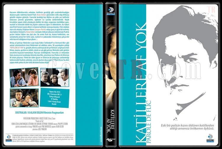 Alain Delon Collection 1 - Scan Dvd Cover Set - Türkçe-katillere-af-yokjpg