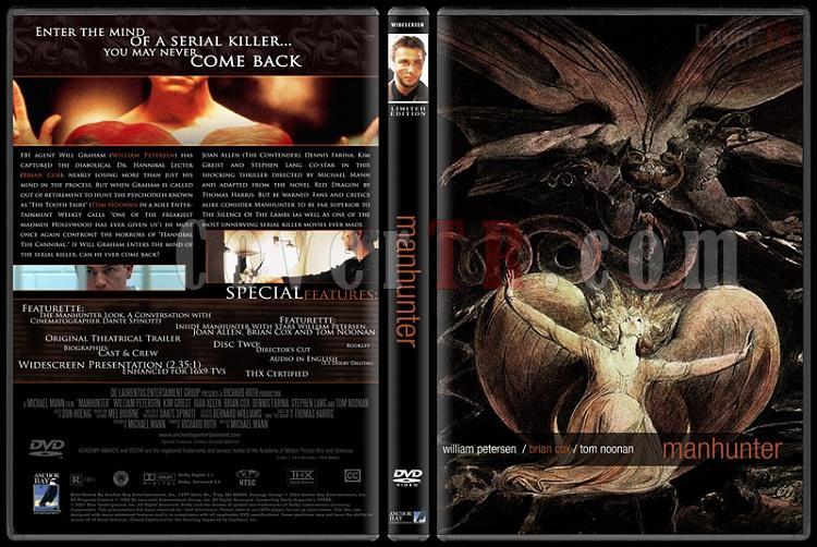Hannibal Lecter Collection - Custom Dvd Cover Set - English [1986-2001]-1jpg