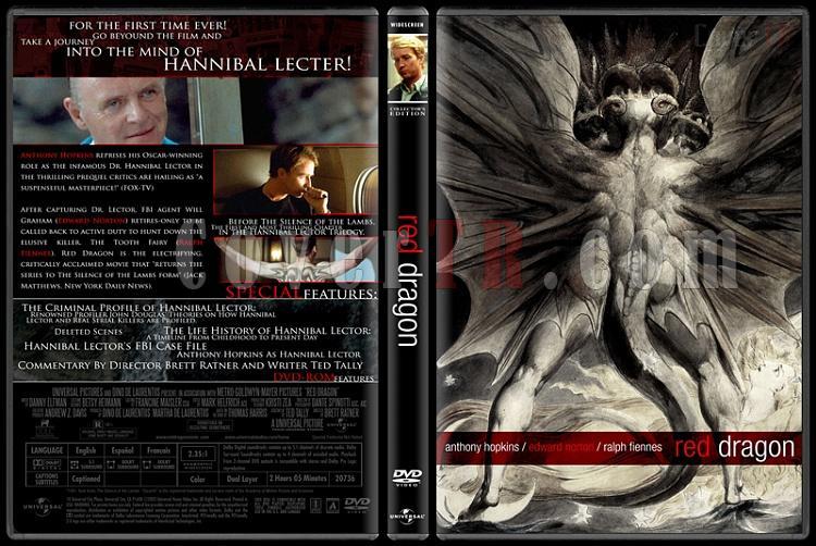 Hannibal Lecter Collection - Custom Dvd Cover Set - English [1986-2001]-3jpg