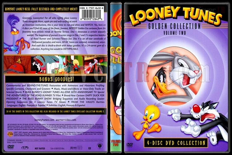 Looney Tunes (Golden Collection) - Costum Dvd Cover Set - English-2jpg
