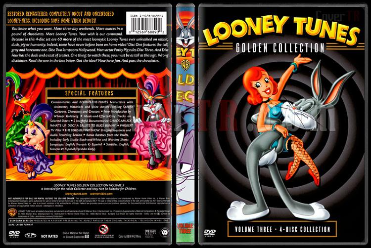 Looney Tunes (Golden Collection) - Costum Dvd Cover Set - English-3jpg