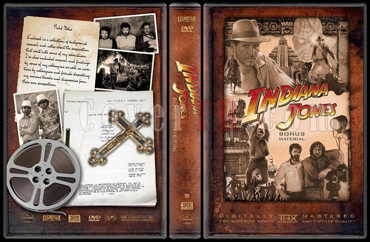 Indiana Jones Collecition - Custom Dvd Cover Set - English-indiana-jones-bonus-materialjpg