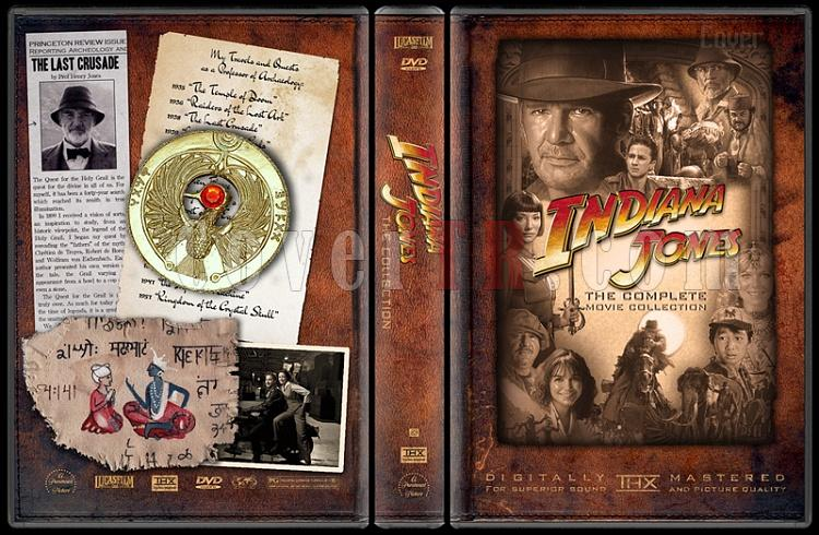 Indiana Jones Collecition - Custom Dvd Cover Set - English-indiana-jones-movie-collectionjpg