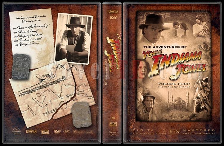 Indiana Jones Collecition - Custom Dvd Cover Set - English-young-indiana-jones-volume-fourjpg