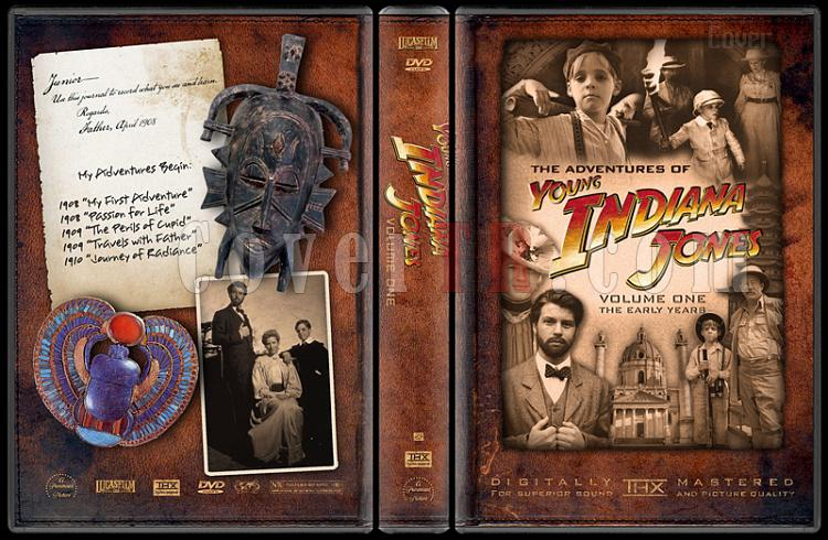 Indiana Jones Collecition - Custom Dvd Cover Set - English-young-indiana-jones-volume-onejpg