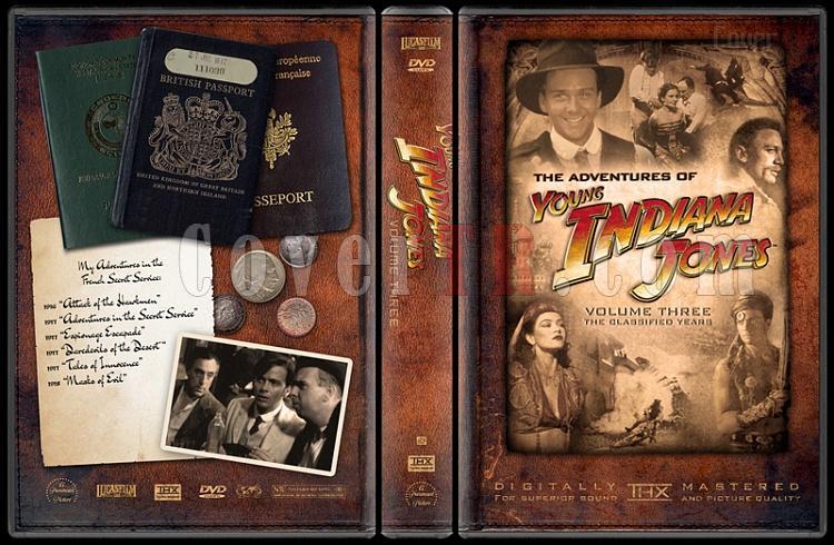 Indiana Jones Collecition - Custom Dvd Cover Set - English-young-indiana-jones-volume-threejpg