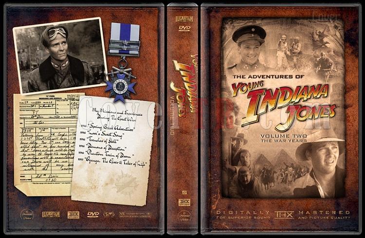 Indiana Jones Collecition - Custom Dvd Cover Set - English-young-indiana-jones-volume-twojpg