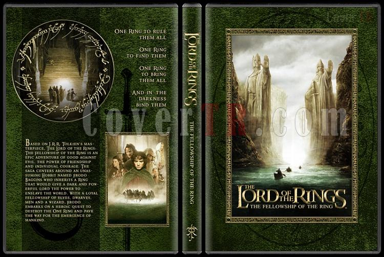The Lord of the Rings Collection - Custom Dvd Cover Set - English [2001-2003]-1-14mmjpg