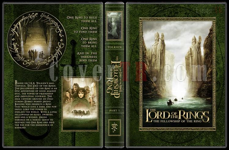 The Lord of the Rings Collection - Custom Dvd Cover Set - English [2001-2003]-1-27mmjpg