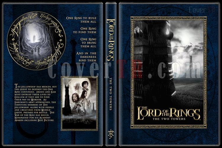 The Lord of the Rings Collection - Custom Dvd Cover Set - English [2001-2003]-2-14mmjpg