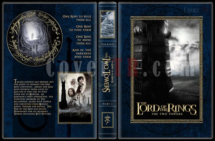 The Lord of the Rings Collection - Custom Dvd Cover Set - English [2001-2003]-2-27mmjpg