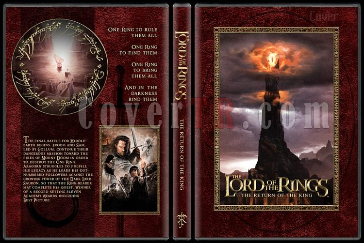 The Lord of the Rings Collection - Custom Dvd Cover Set - English [2001-2003]-3-14mmjpg