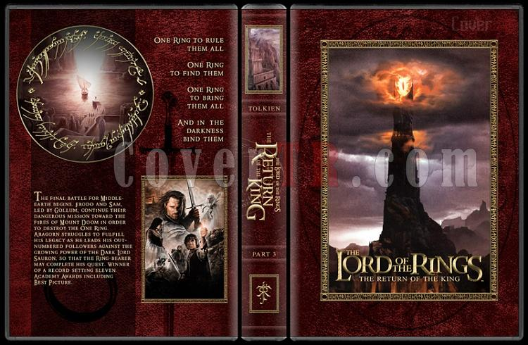 The Lord of the Rings Collection - Custom Dvd Cover Set - English [2001-2003]-3-27mmjpg