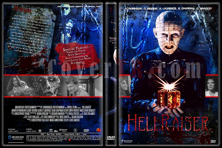 Hellraiser Collection - Custom Dvd Cover Set - English [1987-2005]-1jpg
