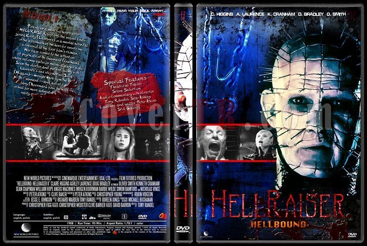 Hellraiser Collection - Custom Dvd Cover Set - English [1987-2005]-2jpg