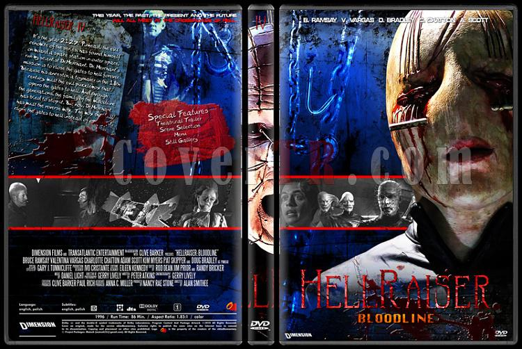 Hellraiser Collection - Custom Dvd Cover Set - English [1987-2005]-4jpg