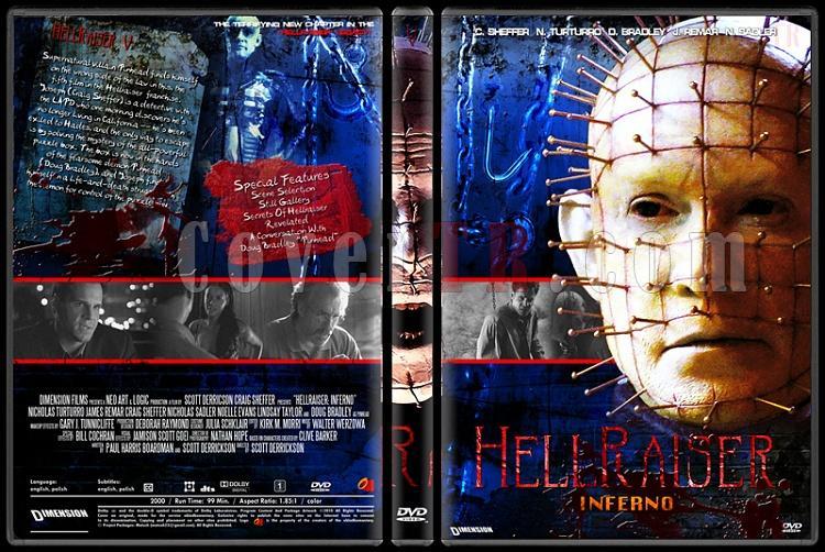 Hellraiser Collection - Custom Dvd Cover Set - English [1987-2005]-5jpg