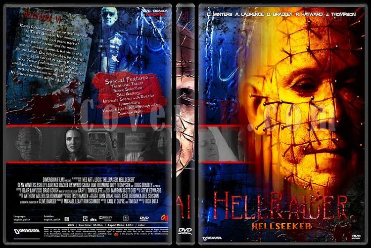 Hellraiser Collection - Custom Dvd Cover Set - English [1987-2005]-6jpg