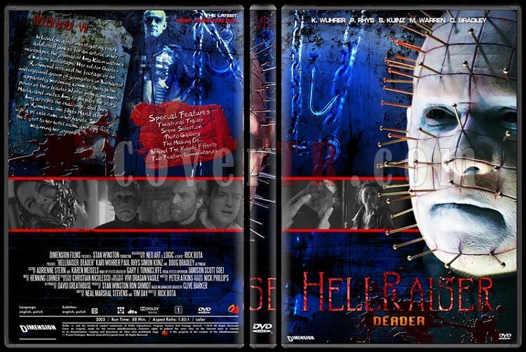 Hellraiser Collection - Custom Dvd Cover Set - English [1987-2005]-7jpg