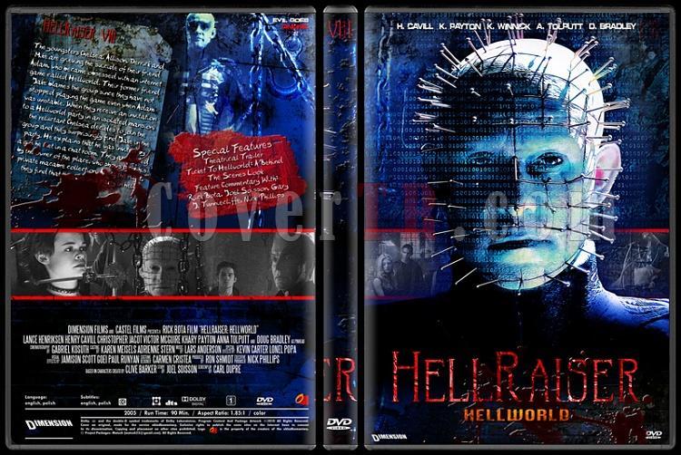 Hellraiser Collection - Custom Dvd Cover Set - English [1987-2005]-8jpg