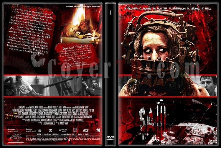 Saw Collection - Custom Dvd Cover Set - English [2004-2010]-1jpg