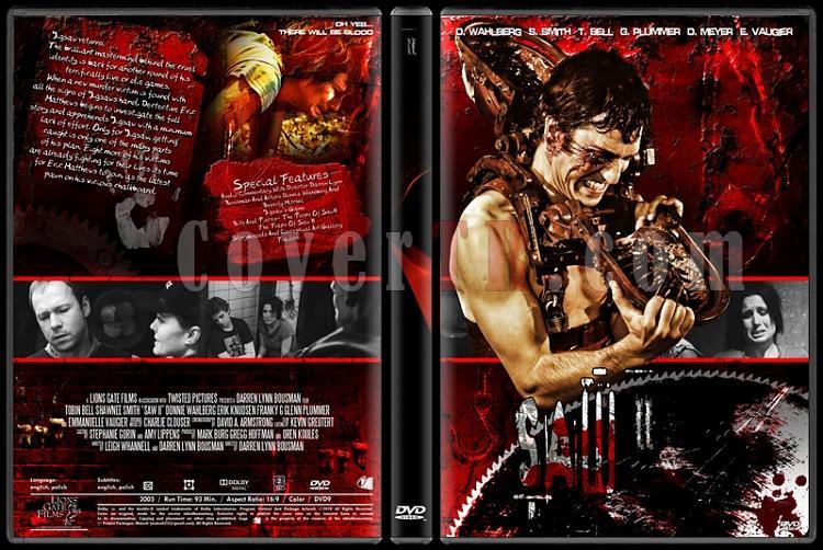 Saw Collection - Custom Dvd Cover Set - English [2004-2010]-2jpg