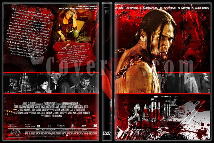 Saw Collection - Custom Dvd Cover Set - English [2004-2010]-3jpg