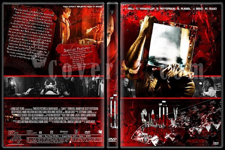 Saw Collection - Custom Dvd Cover Set - English [2004-2010]-5jpg