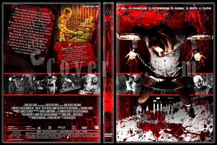 Saw Collection - Custom Dvd Cover Set - English [2004-2010]-6jpg