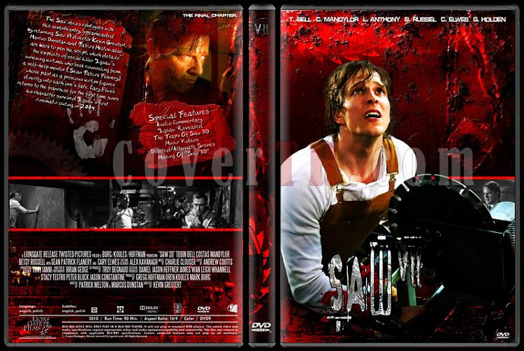 Saw Collection - Custom Dvd Cover Set - English [2004-2010]-7jpg