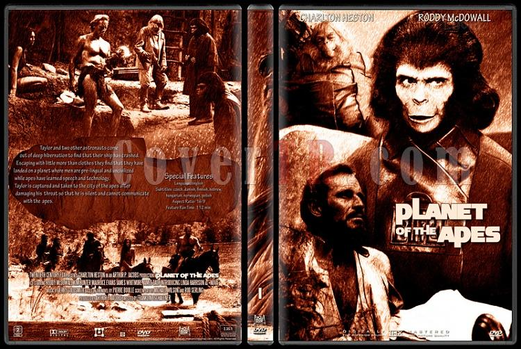 Planet Of The Apes Collection - Custom Dvd Cover Set - English [1968-2001]-1jpg