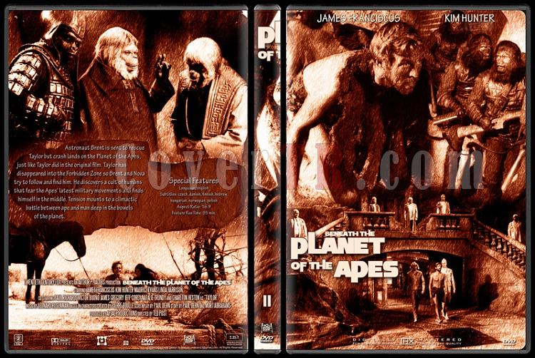 Planet Of The Apes Collection - Custom Dvd Cover Set - English [1968-2001]-2jpg