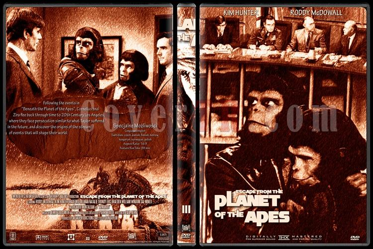 Planet Of The Apes Collection - Custom Dvd Cover Set - English [1968-2001]-3jpg