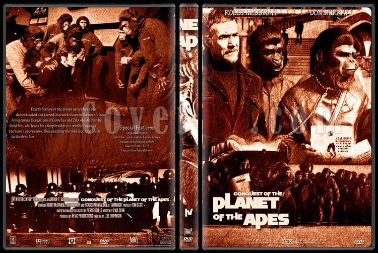 Planet Of The Apes Collection - Custom Dvd Cover Set - English [1968-2001]-4jpg