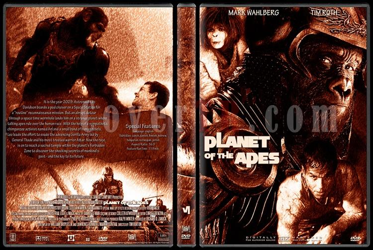Planet Of The Apes Collection - Custom Dvd Cover Set - English [1968-2001]-6jpg