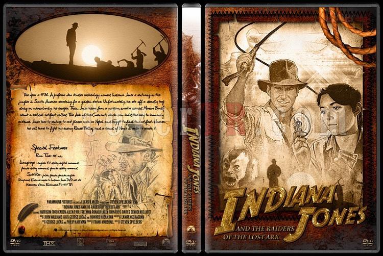 Indiana Jones Collection - Custom Dvd Cover Set - English [1981-2009]-10jpg
