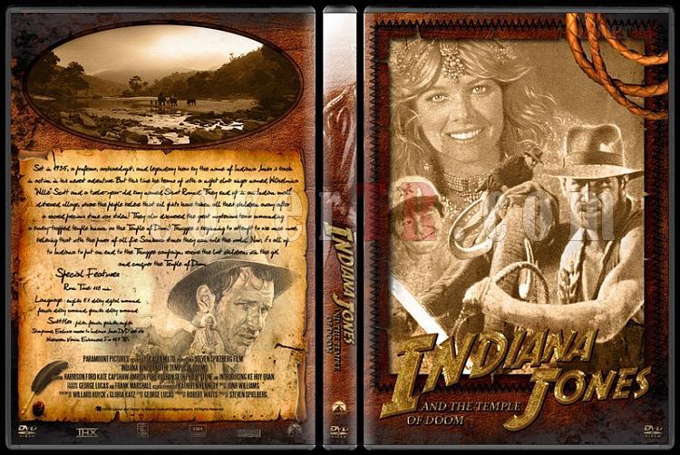 Indiana Jones Collection - Custom Dvd Cover Set - English [1981-2009]-20jpg