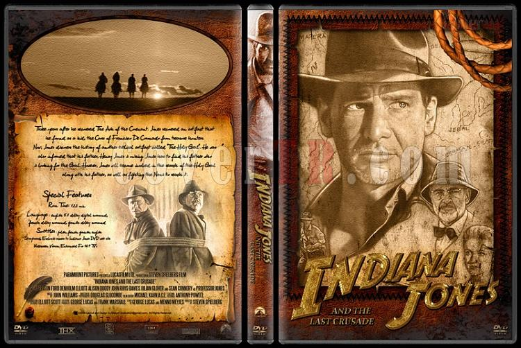 Indiana Jones Collection - Custom Dvd Cover Set - English [1981-2009]-30jpg