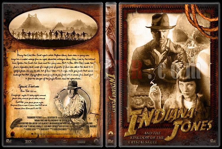 Indiana Jones Collection - Custom Dvd Cover Set - English [1981-2009]-40jpg