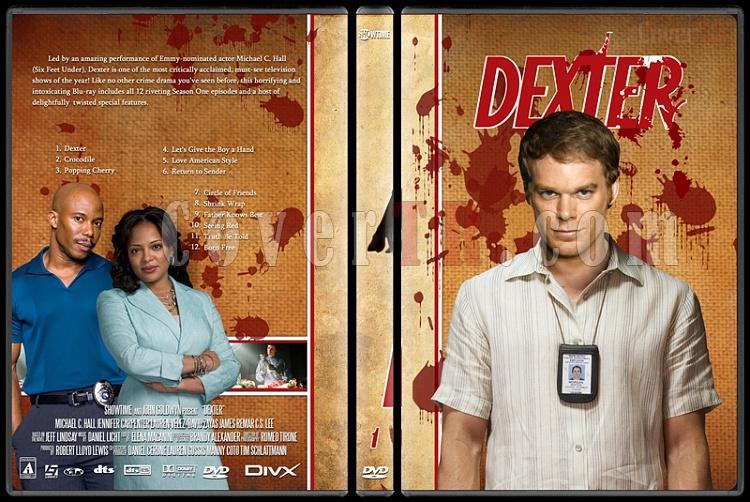 Dexter (Season 1-8) - Custom Dvd Cover Set - English [2003-2013]-dexter-jano846-season-1jpg