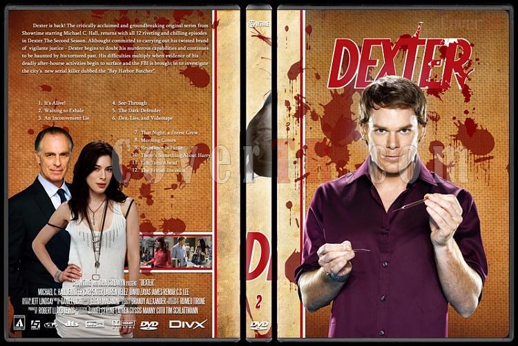 Dexter (Season 1-8) - Custom Dvd Cover Set - English [2003-2013]-dexter-jano846-season-2jpg