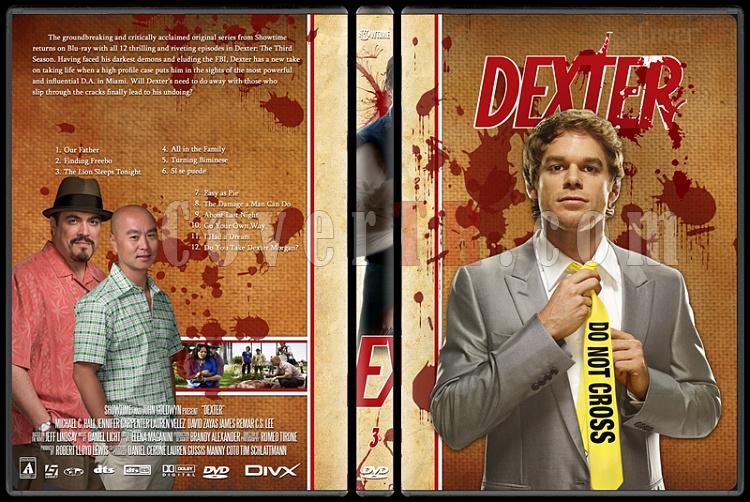 Dexter (Season 1-8) - Custom Dvd Cover Set - English [2003-2013]-dexter-jano846-season-3jpg