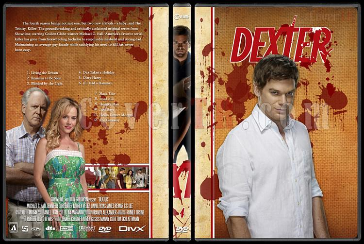 Dexter (Season 1-8) - Custom Dvd Cover Set - English [2003-2013]-dexter-jano846-season-4jpg