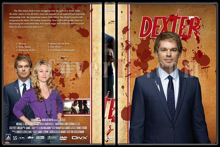 Dexter (Season 1-8) - Custom Dvd Cover Set - English [2003-2013]-dexter-jano846-season-5jpg