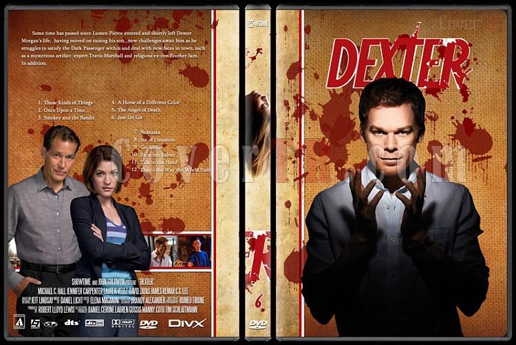 Dexter (Season 1-8) - Custom Dvd Cover Set - English [2003-2013]-dexter-jano846-season-6jpg
