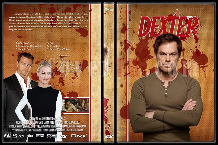 Dexter (Season 1-8) - Custom Dvd Cover Set - English [2003-2013]-dexter-jano846-season-7jpg