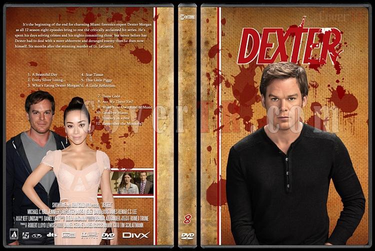 Dexter (Season 1-8) - Custom Dvd Cover Set - English [2003-2013]-dexter-jano846-season-8jpg